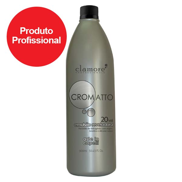 Cromatto Emulsão Reveladora 20 Vol. 900ml