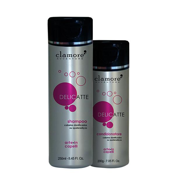 Kit Delicatte - Shampoo 250ml + Condicionador 200g