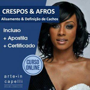 Crespos & Afros - Alisamento e Definição de Cachos